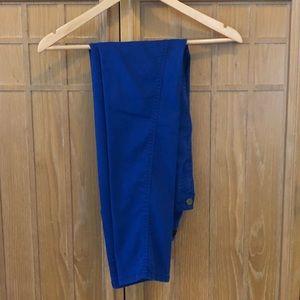 Blue Denim Skinny Jeans by Bloomingdales Aqua 27